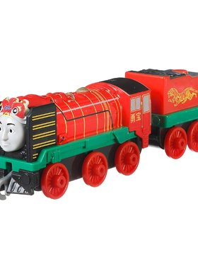 Влакче ЙОНГ БАО Thomas & Friends Yong Bao от серията TrackMaster Push Along, FXX14