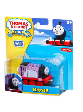 Влакче РОУЗИ Thomas & Friends ROSIE от серията Take-n-Play на Fisher Price, CCK06