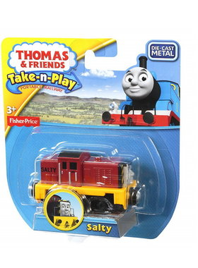 Влакче САЛТИ Thomas & Friends SALTY от серията Take-n-Play на Fisher Price, CBL78