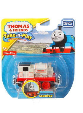 Влакче СТЕНЛИ Thomas & Friends STANLEY от серията Take-n-Play на Fisher Price, CCJ93