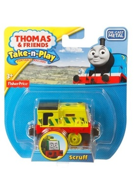 Влакче СКРУФ Thomas & Friends SCRUFF от серията Take-n-Play на Fisher Price, CDV06