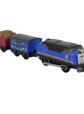 Влакче ГУСТАВО Thomas & Friends Motorized Gustavo n Avacado от серията TrackMaster, GHK78
