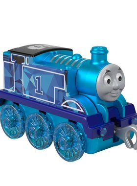 Влакче ТОМАС Диамантен юбилей Thomas & Friends 75th Anniversary Thomas от серията Trackmaster Push Along, Fisher Price, GLK66
