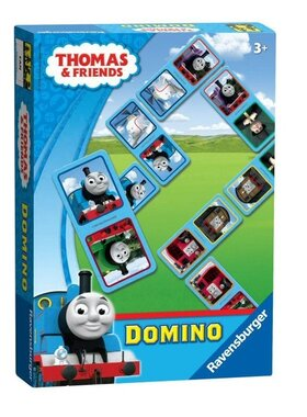 Забавна игра Thomas & Friends, Домино, Domino Game от Ravensburger, 21061