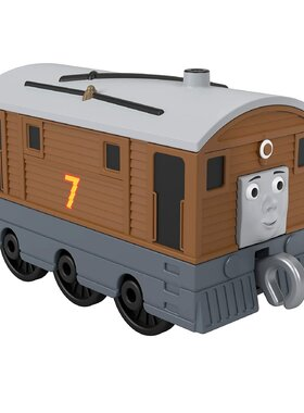 Вагонче ТОБИ Thomas & Friends Toby от серията Trackmaster Push Along, Fisher Price, GHK63