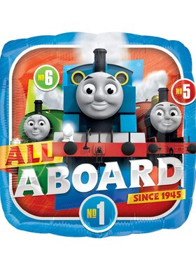 Partyware: Foil Balloon, Thomas & Friends All Aboard 18 inch