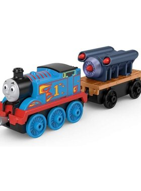 Влакче ТОМАС с ракета Thomas & Friends Rocket Thomas от серията TrackMaster Push Along, GHK71