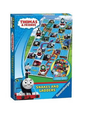 Забавна игра Thomas & Friends, 2 игри в 1, Snakes & Ladders Game от Ravensburger