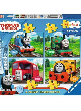 Пъзел Влакчето ТОМАС (14ч.), Thomas & Friends My First Ravensburger puzzle, 070534