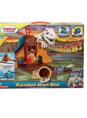 Take-N-Play Thomas & Friends: Roaring Dino playset, BCX23
