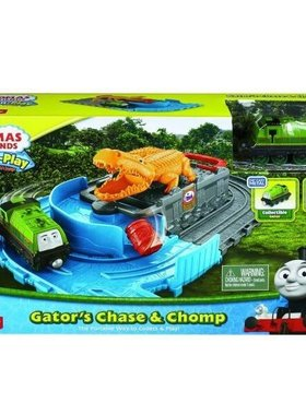 Игрален комплект Thomas & Friends Gator's Chase & Chomp set от серията Take-n-Play, CDN04.CDN05