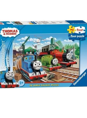 Пъзел Влакчето ТОМАС от Ravensburger, Thomas & Friends My first floor puzzle (16ч.), 70503