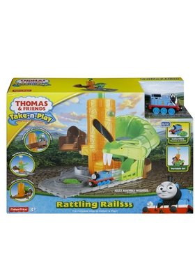 Игрален комплект Thomas & Friends Rattling Railsss от серията Take-n-Play, Fisher Price CDM88