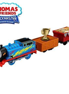 Влакче ТОМАС Thomas & Friends Thomas Trophy от серията Trackmaster на Fisher Price, DFM86