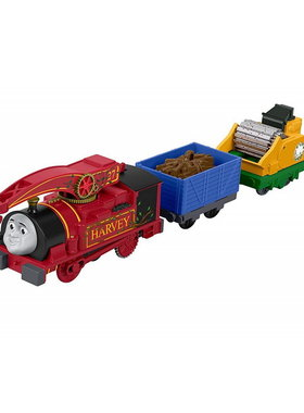 Влакче ХАРВИ Thomas & Friends Helpful Harvey от серията Trackmaster на Fisher Price, FJK53