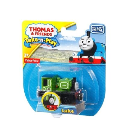 Влакче ЛЮК Thomas & Friends LUKE от серията Take-n-Play на Fisher Price, CCJ89