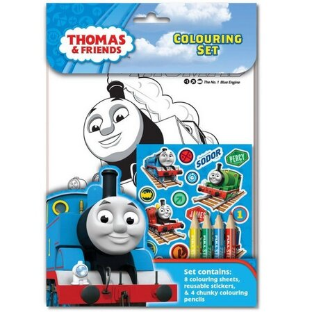 Thomas the Tank Engine Colouring Set, THCST