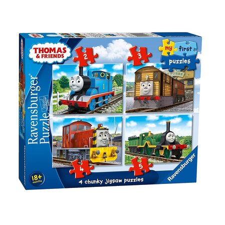 Пъзел Влакчето ТОМАС (14ч.), Thomas & Friends My First Ravensburger puzzle, 069408