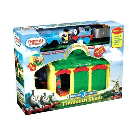 Игрален комплект Thomas & Friends Tidmouth Sheds Engine Depot Playset, W4712