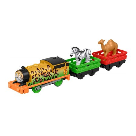 Влакче ПЪРСИ Thomas & Friends Percy Animal Party от серията Trackmaster на Fisher Price, FXX56
