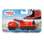 Влакче ДЖЕЙМС Супер герой Thomas & Friends Rail Rocket James от серията TrackMaster Push Along, GHK70